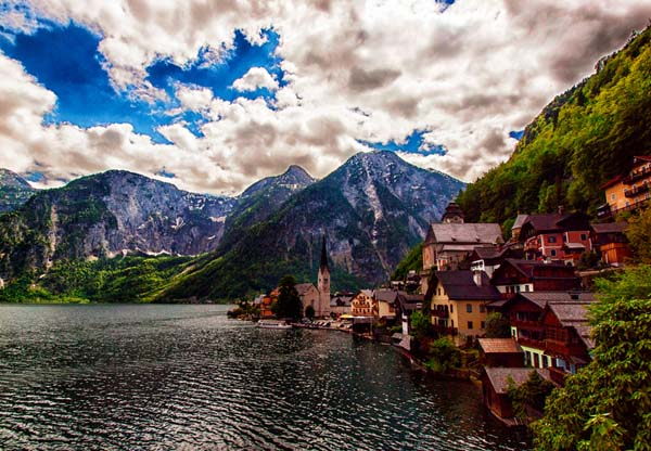 Most Beautiful Places To Live In The World November 29 2014 By Great Vacation Spots Hallstatt Austria