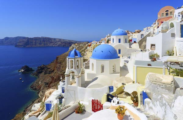 Oia Village in Santorini, Greece